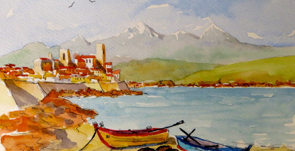 Antibes. 26 by 18 cms. £120