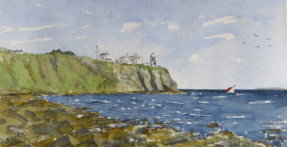 The lighthouse at Whitehead, Northern Ireland. £120