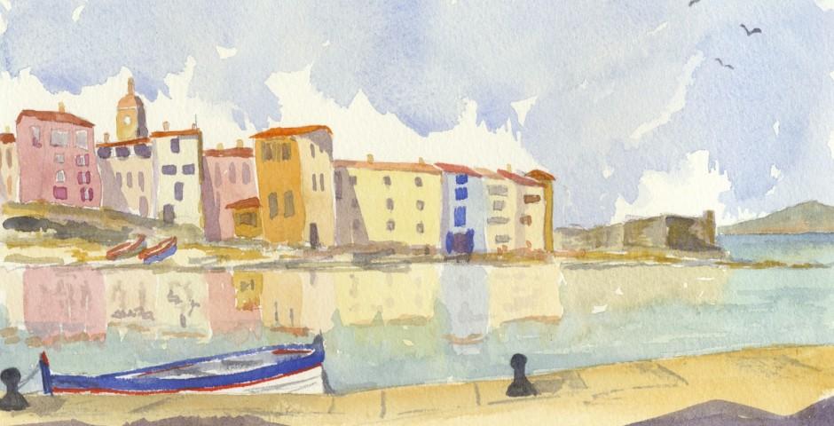Port de Peche in St Tropez. £100